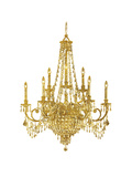 Chandelier Print by  Peach & Gold