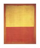 No. 12 (Red and Yellow) Sammlerdrucke von Mark Rothko