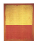 No. 12 (Red and Yellow) Collectable Print by Mark Rothko