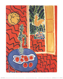 Interieur Rouge Posters av Henri Matisse