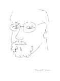 Autoportrait de trois Affiche par Henri Matisse