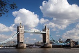 Tower Bridge from the Thames River North Bank, London Photographic Print by Felipe Rodriguez