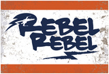 Rebel Rebel Aliance Blue Mark Prints