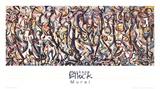 Mural Reproduction pour collectionneurs par Jackson Pollock