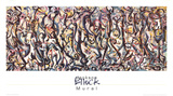 Mural Collectable Print by Jackson Pollock