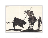 Toros y toreros Posters par Pablo Picasso