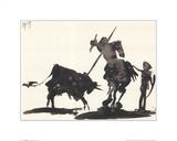 Toros y toreros Plakater av Pablo Picasso
