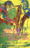 Newport Jazz Festival New York Collectable Print by LeRoy Neiman