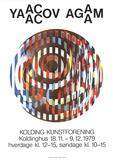 Kolding Kunstforening Sammlerdrucke von Yaacov Agam