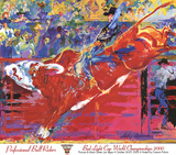 Bull Rider Prints by LeRoy Neiman