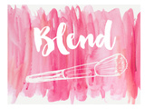 Blend Posters by  Peach & Gold