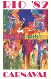 Rio Carnaval Collectable Print by LeRoy Neiman