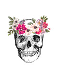 Skull Poster by  Peach & Gold
