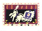 Jazz (1945) Plakater av Henri Matisse