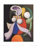 Femme a la Fleur Prints by Pablo Picasso