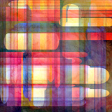 Abstract Geometric Pattern of Stripes Poster by  tanor27