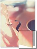 Cello Close Up Plakat av Myan Soffia