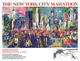 New York City Marathon 1979 Collectable Print by LeRoy Neiman