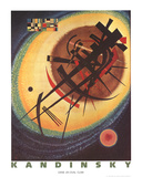 Bright Oval Collectable Print by Wassily Kandinsky