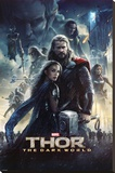 Thor 2 (One Sheet) Stretched Canvas Print