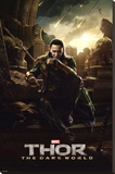 Thor 2 - Loki Stretched Canvas Print