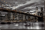 Assaf Frank -New York Stretched Canvas Print