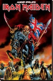 Iron Maiden - Maiden England Stretched Canvas Print