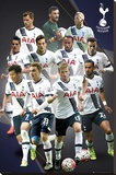 Tottenham- Players 15/16 Stretched Canvas Print