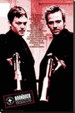 Boondock Saints Red Poem Stretched Canvas Print