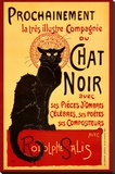 Tournée du Chat Noir, c.1896 Stretched Canvas Print by Théophile Alexandre Steinlen