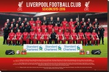Liverpool- Team 15/16 Stretched Canvas Print