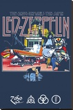 Led Zeppelin Remains Stretched Canvas Print