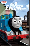 Thomas the Tank Engine - No 1 Engine Stretched Canvas Print