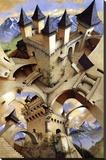 Castle of Illusion Lærredstryk på blindramme af Irvine Peacock