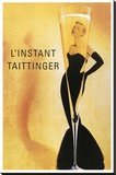 Taittinger Stretched Canvas Print