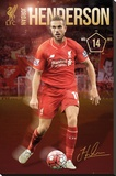 Liverpool- Henderson 15/16 Stretched Canvas Print