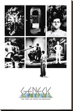 Genesis- Lamb Lies Down Stretched Canvas Print