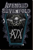 Avenged Sevenfold (Chain Coffin) Stretched Canvas Print