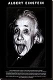 Albert Einstein Stretched Canvas Print