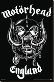 Motorhead- Made In England Stretched Canvas Print