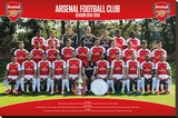 Arsenal- Team 15/16 Stretched Canvas Print