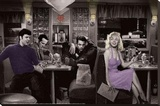 Blue Plate Diner Poster Stretched Canvas Print by Chris Consani