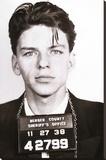 Frank Sinatra - Mugshot Stretched Canvas Print