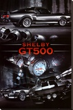 Ford Shelby GT500 Stretched Canvas Print