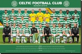 Celtic- Team 15/16 Stretched Canvas Print