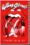 Rolling Stones It's Only Rock n Roll Stretched Canvas Print