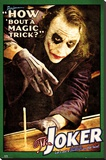 Batman: The Dark Knight - Joker Magic Trick Stretched Canvas Print