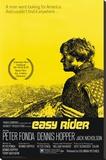 Easy Rider, film avec P. Fonda et D. Hopper, 1969 Reproduction sur toile tendue