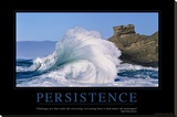Persistence Stretched Canvas Print