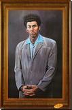 Seinfeld - Kramer Stretched Canvas Print